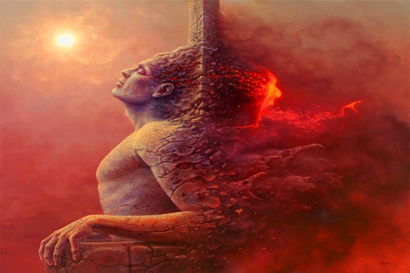 اختیار - روح - تکامل